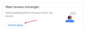 Link aanmaken voor Google Reviews